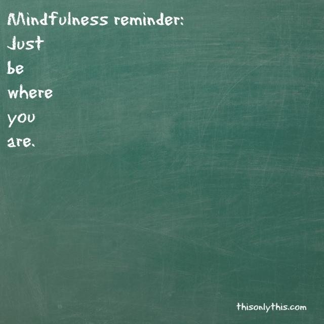 reminder be